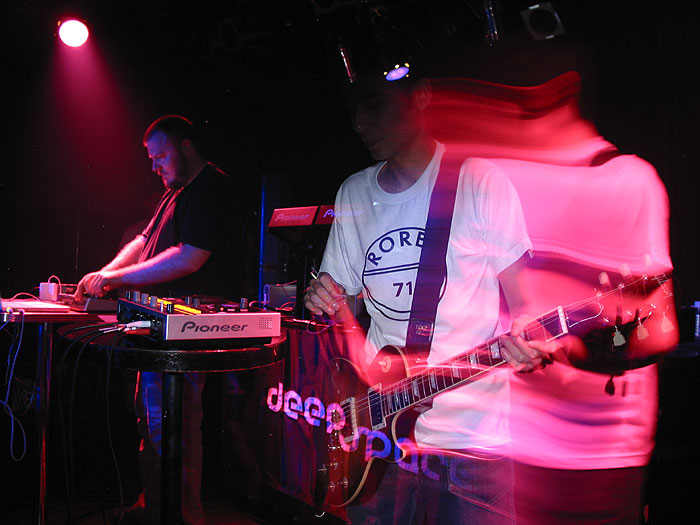 Brendon & Shigeru (Beat Pharmacy) @ Deep Space in Osaka, Japan