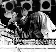 Mad Professor during live dub performance