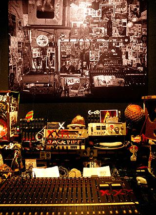 Detail of Lee Perry's Black Ark Studio
