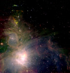 Amazing picture of Orion's gas clouds